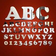 Wandspiegel Alphabet