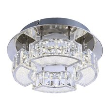Silurus 1 Light Flush Ceiling Light