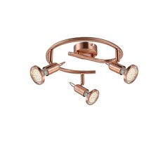 Anne 3 Light Flush Ceiling Light