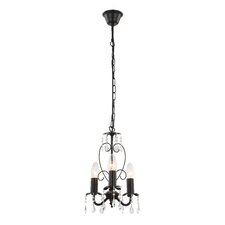 Pinja 3 Light Candle Chandelier