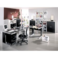 Büroset Black & White