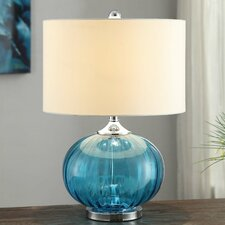 "Sea Side New Port 22"" H Table Lamp with Drum Shade"