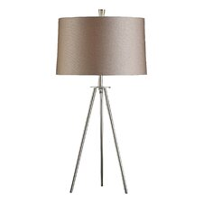 Sabra 28'' H Table Lamp with Drum Shade