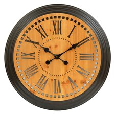 "Oversized 24"" Time Inversion Clock"