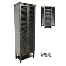 Wilmington Louvered Door Tall Cabinet