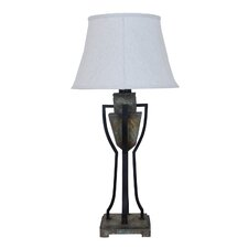 "Monarch Outdoor 36"" H Table Lamp with Bell Shade"