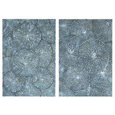 Kaleidoscopic 2 Piece Painting Print Set