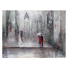 City Street 2 Painting Print