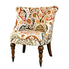 Hutchison Pattern Fabric Side Chair