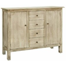Brookline 4 Drawer/2 Door Cabinet