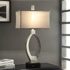 "Manhattan Camden 31.5"" H Table Lamp with Rectangular Shade"