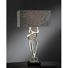 "Manhattan Coventry 37"" H Table Lamp with Rectangular Shade"