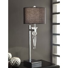 """Transitions Celest 29.5"""" H Table Lamp with Drum Shade"""