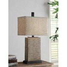 "Mason 30.75"" H Table Lamp with Rectangular Shade"