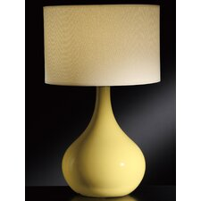 """Cabot 28"""" H Table Lamp with Drum Shade"""