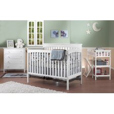 Petite Paradise 4-in-1 Elite Room In A Box 5 Piece Convertible Crib Set