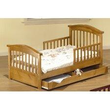 Joel Pine Toddler Bed with Storage