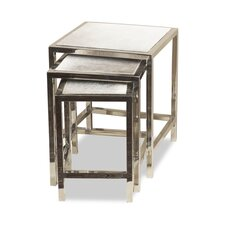 Dakota 3 Piece Hide Nesting Tables