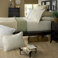 Standard Bamboo Rayon Quilted Reversible Coverlet