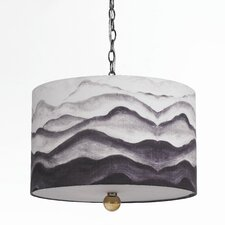 Scenic Mountain Air 3 Light Drum Pendant