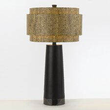 "Aviva 32.5"" H Table Lamp with Drum Shade"