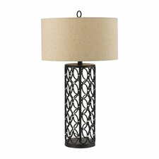 "Cosmo 30"" H Table Lamp with Drum Shade"