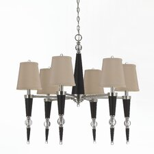 Hollace 6 Light Chandelier