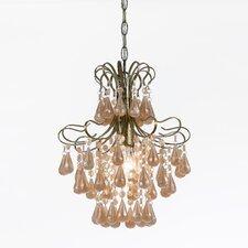 Tiffany 1 Light Mini Chandelier