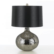"Mirage Elements 23"" H Table Lamp with Drum Shade"