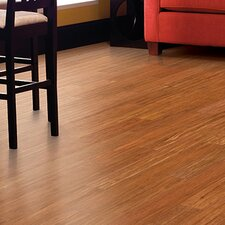 "3-3/4"" Engineered Bamboo Hardwood Flooring in Spice"