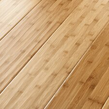 "6-5/8"" Solid Bamboo Hardwood Flooring in Apricot"