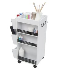 Swivel Organizer Utility Cart