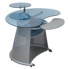 Neptune Computer Desk with Keyboard Shelf