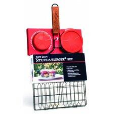 2 Piece Stuff-A-Burger® Basket and Press Set