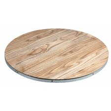 Galvanized Lazy Susan
