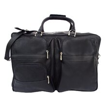 "Traveler 19.5"" Leather Travel Duffel"