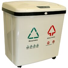 16-Gal. Automatic Multi Compartment Recycling Bin