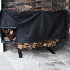 FireKing Modern Firewood Fire Pit Log Rack