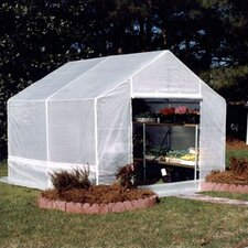 10 Ft. W x 10 Ft. D Complete Portable Greenhouse