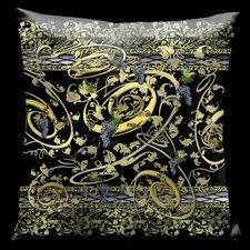 Como Gardens Throw Pillow