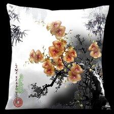 Exotic Asia Throw Pillow