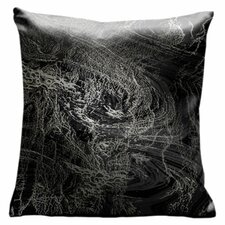 Ham and Eggs Throw Pillow