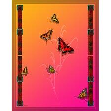 Butterflies and Beauty Throw