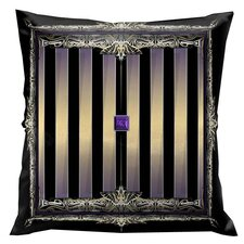 Rulers of Time Stripes Throw Pillow