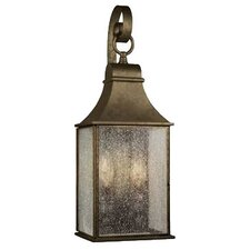 2 Light Outdoor Wall Lantern