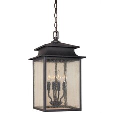 Sutton 4 Light Outdoor Pendant