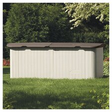 7 Ft. W x 3 Ft. D Plastic Tool Shed
