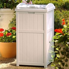 33 Gallon Outdoor Trash Container Hideaway