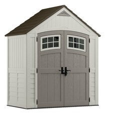 Cascade 7 Ft. W x 4 Ft. D Resin Storage Shed