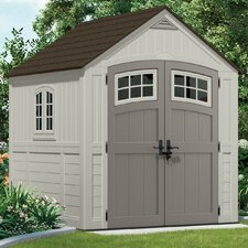 Cascade 7 Ft. W x 7 Ft. D Resin Storage Shed